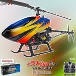 CopterX CX 450PRO V4 Flybarless Belt Version 2.4GHz RTF (Cartoned)