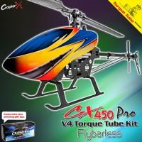 CopterX CX 450PRO V4 Flybarless Torque Tube Version Kit