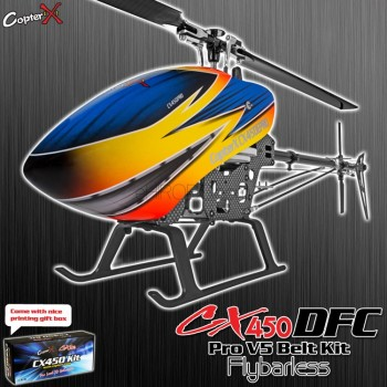 CopterX CX 450PRO V5 DFC Flybarless Belt Version KitCopterX Helicopters