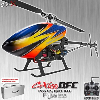 CopterX CX 450PRO V5 DFC Flybarless Belt Version 2.4GHz RTFCopterX CX 450DFC Parts