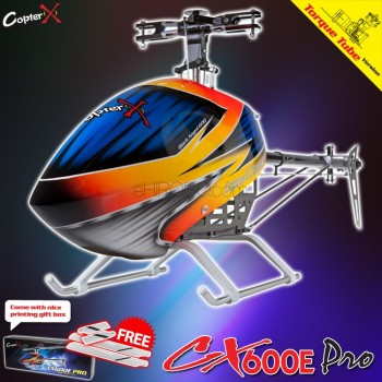 CopterX CX 600E Pro Flybarless Torque Tube Version Helicopter KitCopterX Helicopters