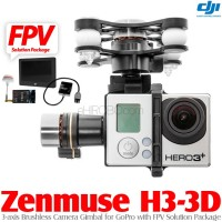 DJI Zenmuse H3-3D Camera Gimbal with FPV Solution Package (Customized for P2 only)