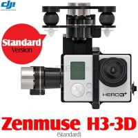 DJI Zenmuse H3-3D 3-axis Brushless Camera Gimbal for GoPro (Standard)