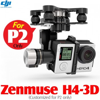 DJI Zenmuse H4-3D 3-axis Brushless Gimbal for GoPro HERO 4 Camera (Customized for P2 only)