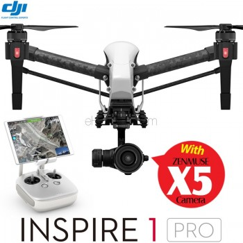 DJI Inspire 1 Pro 4K Camera GPS Quadcopter with Zenmuse X5 and Single Remote Controller RTF - 2.4GHz