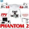 DJI Phantom 2 GPS Drone RTF with Zenmuse H3-3D 3-axis Brushless Camera Gimbal, FPV Solution Package and Wheeled Aluminium Carrying Case - 2.4GHz