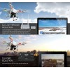 DJI Phantom 2 GPS Drone RTF with Zenmuse H3-3D 3-axis Brushless Camera Gimbal - 2.4GHz