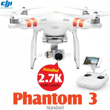 DJI Phantom 3 Standard with UHD 2.7K Camera Quadcopter RTF - 5.8GHz