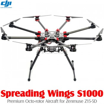 DJI Spreading Wings S1000 Premium Octo-rotor Aircraft for Zenmuse Z15-5D