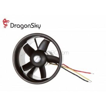 DragonSky (DS-DF-4500KV) Ducted Fan Unit 5 Blades 62mm with 4500KV Brushless Motor