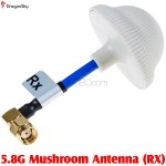 DragonSky (DS-FPV-5.8G-MUSHROOM-RX) 5.8G Mushroom Antenna (RX)