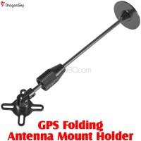 DragonSky (DS-GPS-HOLDER-BK) GPS Folding Antenna Mount Holder (Black)