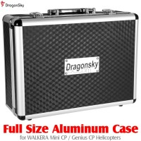 DragonSky (DS-MINI-CP-CASE) Full Size Aluminum Case for Walkera MINI CP / GENIUS CP Helicopters