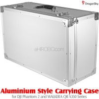 DragonSky (DS-P2-CASE-02) Aluminium Style Carrying Case for DJI Phantom 2 and WALKERA QR X350 Series