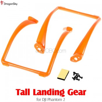 DragonSky (DS-P2-TLG-O) Tall Landing Gear for DJI Phantom 2 (Orange)