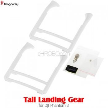DragonSky (DS-P3-TLG-W) Tall Landing Gear for DJI Phantom 3 (White)