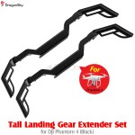 DragonSky (DS-P4-LGEX-BK) Tall Landing Gear Extender Set for DJI Phantom 4 (Black)