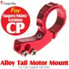DragonSky (DS-SUPER-CP-MOUNT-R) Super CP / Mini CP / Genius CP Alloy Tail Motor Mount for 7mm Upgrade Tail Motor (Red)