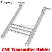 DragonSky (DS-TX-HOLDER) CNC Transmitter Holder (Silver)