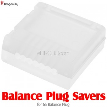 DragonSky (DS-XH-ABCLIP-6S) Balance Plug Savers for 6S Balance Plug
