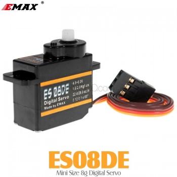 EMAX (ES08DE) Mini Size 8g Digital Servo 1.6KG 0.12secMini Servos