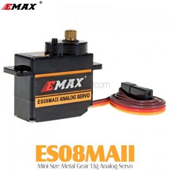 EMAX (ES08MAII) Mini Size Metal Gear 13g Analog Servo 1.6KG 0.12secMini Servos