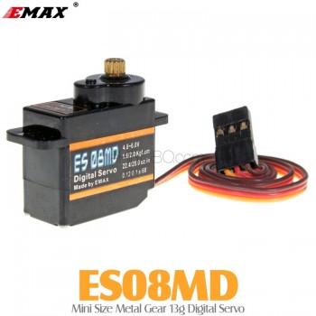 EMAX (ES08MD) Mini Size Metal Gear 13g Digital Servo 1.6KG 0.12secMini Servos