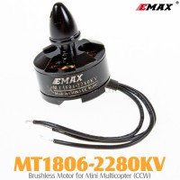 EMAX (MT1806-2280KV) Brushless Motor for Mini Multicopter (CCW)