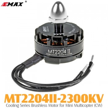 EMAX (MT2204II-2300KV) Cooling Series Brushless Motor for Mini Multicopter (CW)