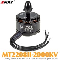 EMAX (MT2208II-2000KV) Cooling Series Brushless Motor for Mini Multicopter (CCW)