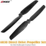 EMAX 6030 Direct Drive Propeller Set for Mini Multicopter (Carbon Fiber)
