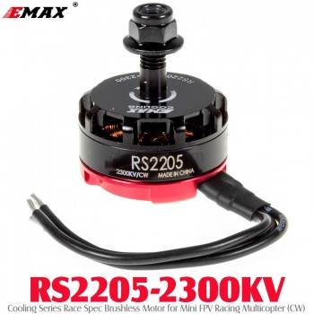 EMAX (RS2205-2300KV) Cooling Series Race Spec Brushless Motor for Mini FPV Racing Multicopter (CW)
