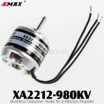 EMAX (XA2212-980KV) Brushless Outrunner Motor for 9-10inches Propeller