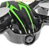 X6 (FY-310B-BG-M2) 6 Axis Gyro 4CH Mini Quadcopter with Video Camera and Rotor Blades Protection CoverRTF (Black Green, Mode 2) - 2.4GHz