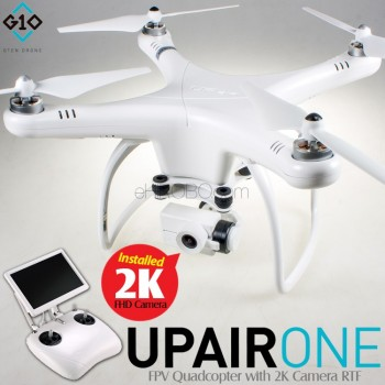 GTEN Drone (GTEND-UPAIR-ONE-2K) UPair ONE FPV Quadcopter with 2K Camera RTF - 2.4GHz