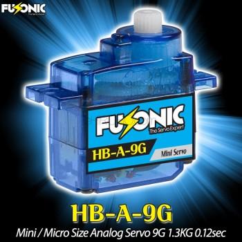 Fusonic (HB-A-9G) Mini / Micro Size Analog Servo 9G 1.3KG 0.12secCopterX CX 450PRO Parts