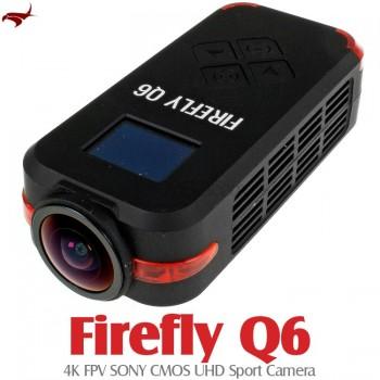 HAWK-EYE Aerial Video Technology (HEAVT-FIREFLY-Q6-BK) Firefly Q6 4K FPV SONY CMOS UHD Sport Camera (Black)