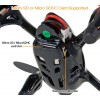 Hubsan (HS-H107C-BR-M2) X4 Mini Drone LED Version 6 Axis Gyro 4CH UFO with Video Camera and Rotor Blades Protection Cover RTF (Black Red, Mode2) - 2.4GHzHUBSAN H107 Parts