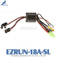 Hobbywing EZRUN-18A-SL Sensorless Brushless ESC for 1/16, 1/18 Car