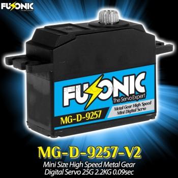 Fusonic (MG-D-9257-V2) Mini Size High Speed Metal Gear Digital Servo 25G 2.2KG 0.09secCopterX CX 450PRO Parts