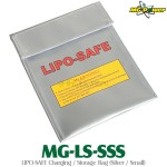 MG-Power (MG-LS-SSS) LIPO-SAFE Charging / Storage Bag (Silver / Small)