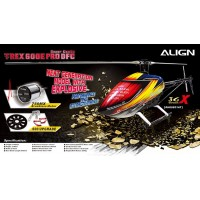 ALIGN (RH60E01AT) T-REX 600E PRO DFC Super Combo