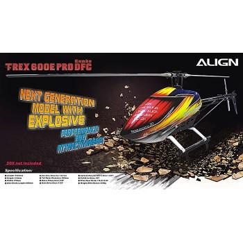 ALIGN (RH60E02XW) T-REX 600E PRO DFC Combo