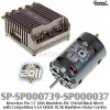 Speed Passion (SP-SP000739-SP000037) Reventon Pro 1.1 140A Brushless ESC (Metal Black Silver) with Competition V3.0 MMM 10.5R Brushless Motor Combo