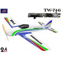 Lanyu (TW-746) 4CH Supersonic F3A EPO ARTF Aeroplane (White) - 2.4GHz