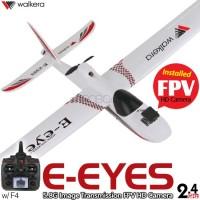 WALKERA E-eyes FPV HD Camera 7CH Brushless Airplane with DEVO F4 Transmitter ARTF - 2.4GHz