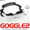 WALKERA Goggle2 FPV Wireless 5.8GHz Video Glasses with Head Tracking