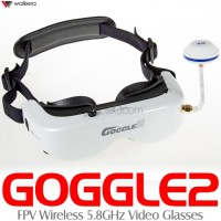 WALKERA Goggle2 FPV Wireless 5.8GHz Video Glasses