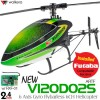 WALKERA NEW V120D02S 6 Axis Gyro Flybarless 6CH Helicopter with FUTABA Compatible RXF-01 Receiver without Transmitter ARTF (Green) - 2.4GHzWalkera Helicopters