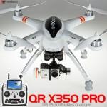 WALKERA QR X350 PRO GPS FPV Quadcopter with DEVO F12E RTF